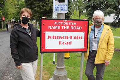 Road Dedication to Kathy Johnson & Judy Hafso 5-20-21