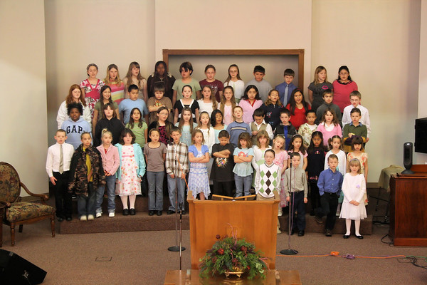 Kids4Christ Choir - Easter 2007