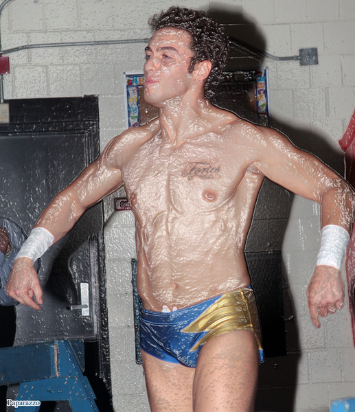 "Ricky Archer during the UFO Wrestling ""Monsters Ball"" show held on October 25, 2019 at the Tynan Community Center in South Boston, Massachusetts."