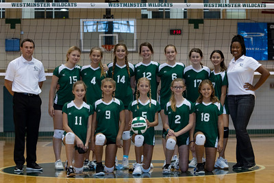 Volleyball - Middle School - September 22, 2021