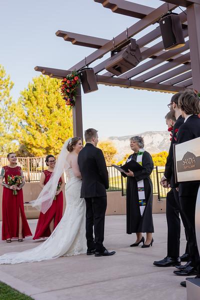 Sandia Hotel Casino New Mexico October Wedding Ceremony C&C-84.jpg
