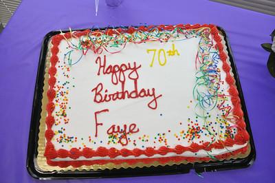 Seventy & Sassy Happy Birthday Faye July 26, 2014