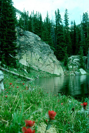 St Mary's Glacier & Fall River Reservoir 1992
