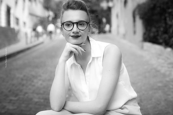 Cécile H, Montmartre, Un Jour D' Août 2017