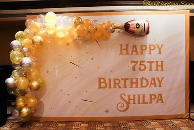 75th  Birthday  Shilpa