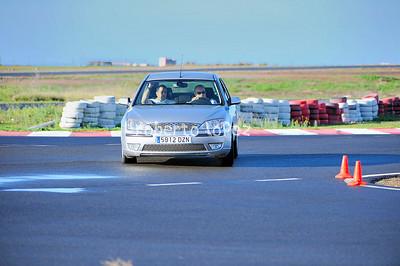 Circuito de  Tarajalillo Curso de Conduccion 20-02-2010