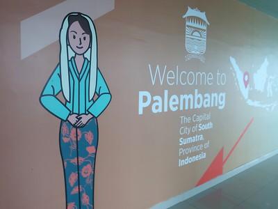 Palembang Airport  -  Sumatra