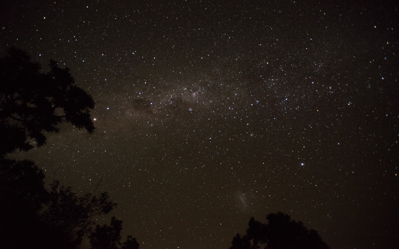 Milky way. Giants Castle Game Reserve, South Africa.