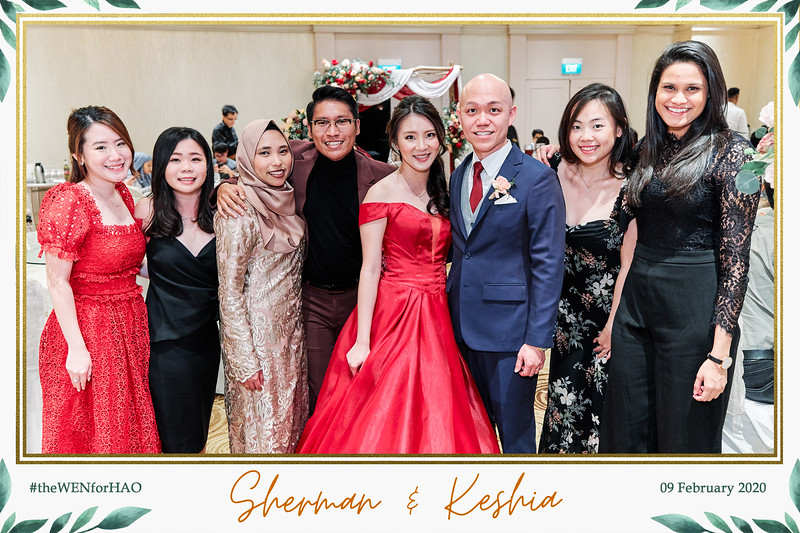 Wedding of Sherman & Keshia | © www.SRSLYPhotobooth.sg