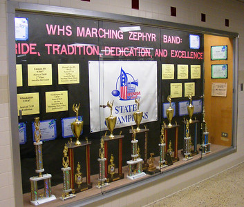 MZB Accomplishments displayed in High School