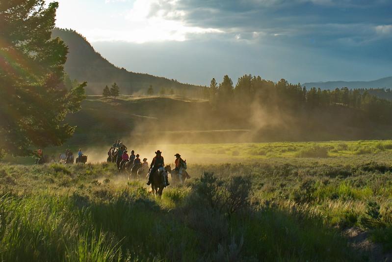 Lamar Valley, Wyoming