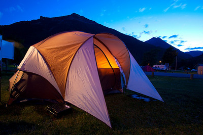 2010 Waterton Camping Adventure