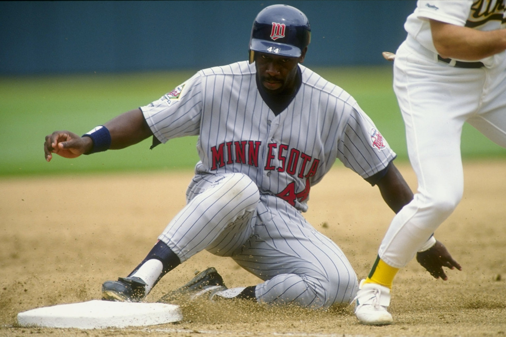 . #3 -- Minnesota\'s Chili Davis had 29 home runs, 93 RBIs and batted .277 as the Twins\' DH. in 1991. He followed that up in \'92 with 12 home runs, 66 RBIs and a .288 batting average.  (Otto Greule Jr./Allsport)