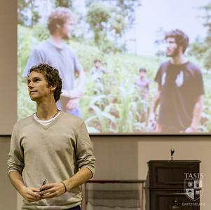 Senior Humanities Program - Chris Temple and Zach Ingrasci