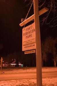 Fort Robinson at Christmas