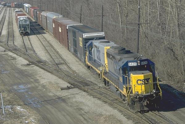csx6426 D736 East yard 3.7.97.jpg
