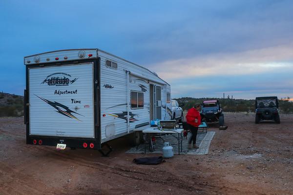 Christmas 2020 Jackass Flats AZ Camp & Ride