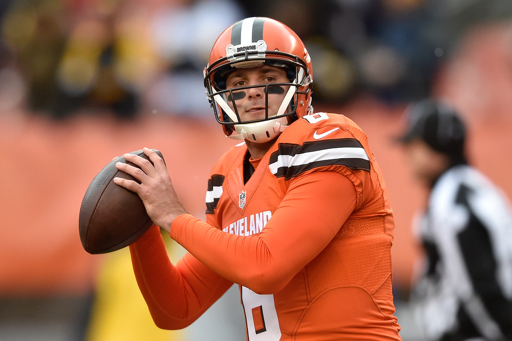 . Associated Press file Cleveland Browns quarterback Cody Kessler (6) warm ups before an NFL football game against the Pittsburgh Steelers in Cleveland, Sunday, Nov. 20, 2016.