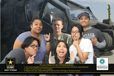US Army CC Tour - HCC (Green Screen Party Portraits)