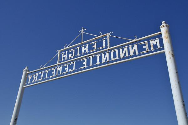 Lehigh Mennonite Cemetery, Lehigh, Ks 3.20.2014