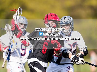 5/12/2016 - Boys Varsity Lacrosse - Milton vs Brookline