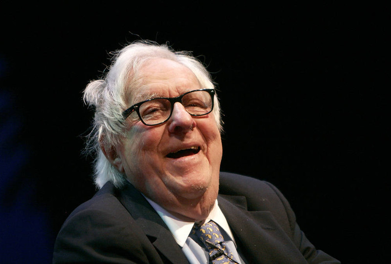 . Writer Ray Bradbury.  (Photo by Charley Gallay/Getty Images)