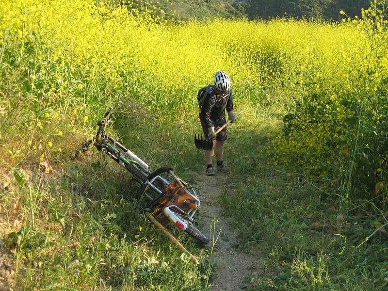 20080417012-New Millenium Trail, trailwork, Jeff.JPG