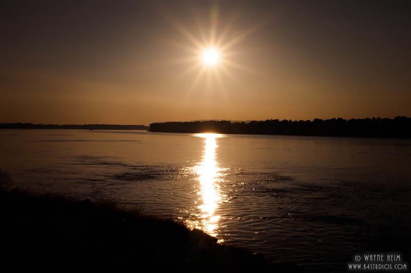 Reflection of the Sun  Photography by Wayne Heim