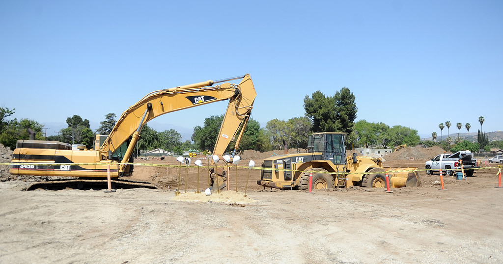 . The site for the new Hacienda Heights Community Center at the former site of Hillgrove School on Thursday, March 2, 2013 in Hacienda Heights, Calif.    (Keith Birmingham Pasadena Star-News)