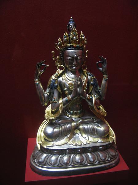 Deities depicted in mild form