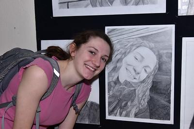 It Looks Like...AMHS Pencil Portraits photos by Gary Baker