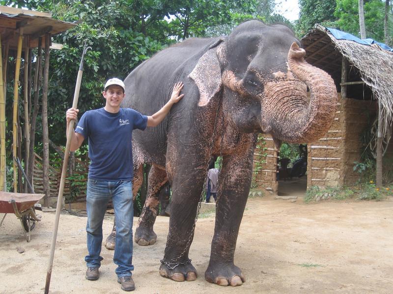Ryan Iafigliola with a big friend.
