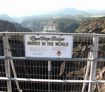 Royal Gorge Bridge - September 2006