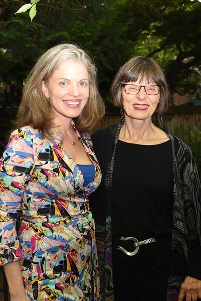 Heidi Sieck, Barbara Lux. Blue Wave Book Opening. June 5, 2018. 616 North Carolina St SE. Amanda Warden..JPG