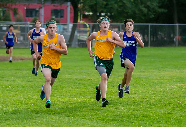The Finishes, Set four: High School Boys Cross Country Nisqually 2 Meet 10/02/2018