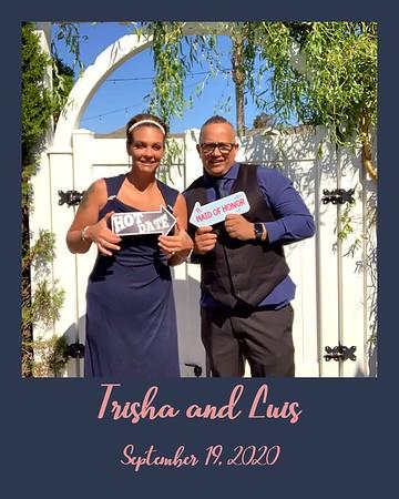 Trisha and Luis' Wedding September 19, 2020