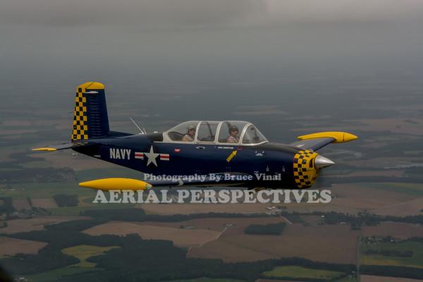 3 Ship Easton Flight - 9/25/15  N92K N400YC
