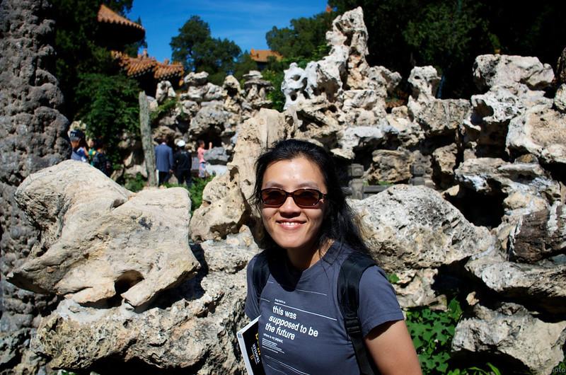 imperial garden rock sculptures
