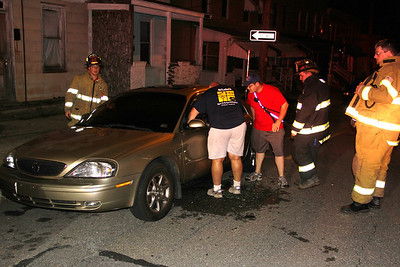 Vehicle Arson, High Street, Coaldale (8-22-2012)