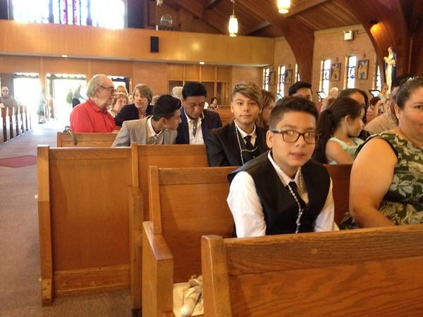 Teen First Eucharist August 2019