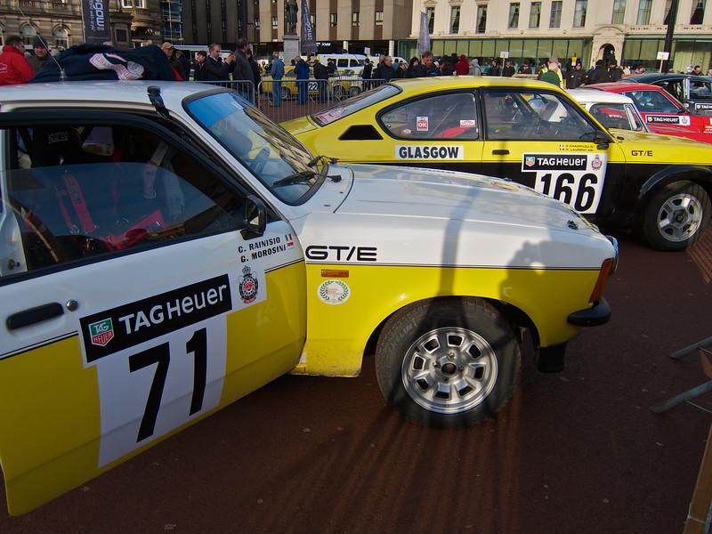 A pair of Opel Kadett GT/Es