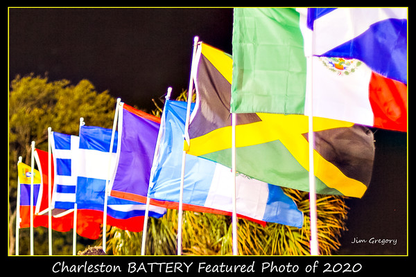 COLORS OF THE CHARLESTON BATTERY