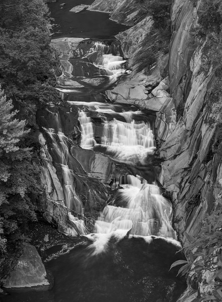 L'Eau d'Or Falls - Tallulah Gorge State Park
