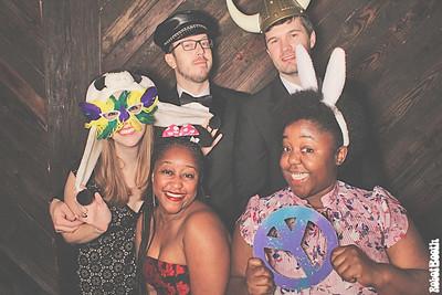 12-31-17 Atlanta Monday Night Brewing Photo Booth - Jennifer & David's Wedding - Robot Booth