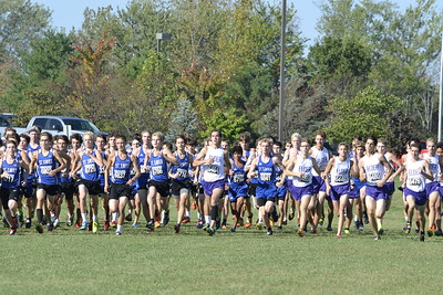 2017 Cross Country at GCL Meet Open Race