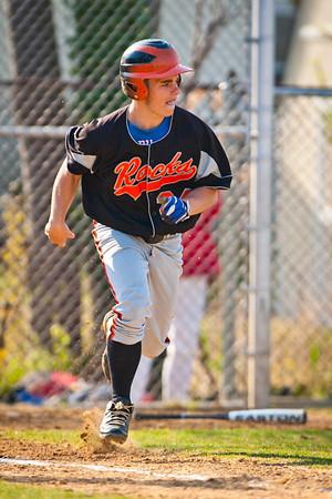 2012-04-16 E Rock HS Baseball vs Wheatly HS