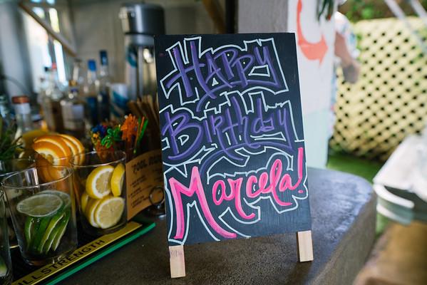 Marcela's bday