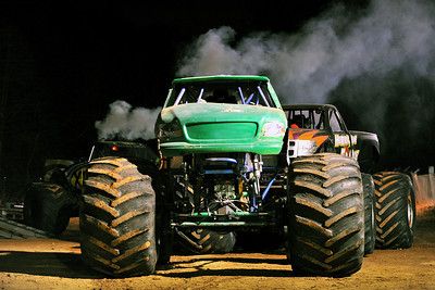 10/25/2013 Monster Truck Action