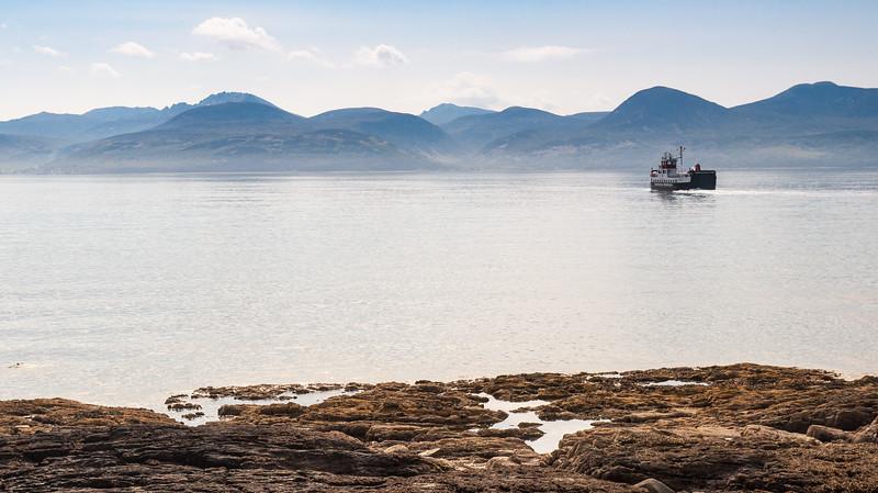 The Lochranza Ferry