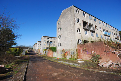 Billy Banks housing estate,Penarth,Wales 2012.